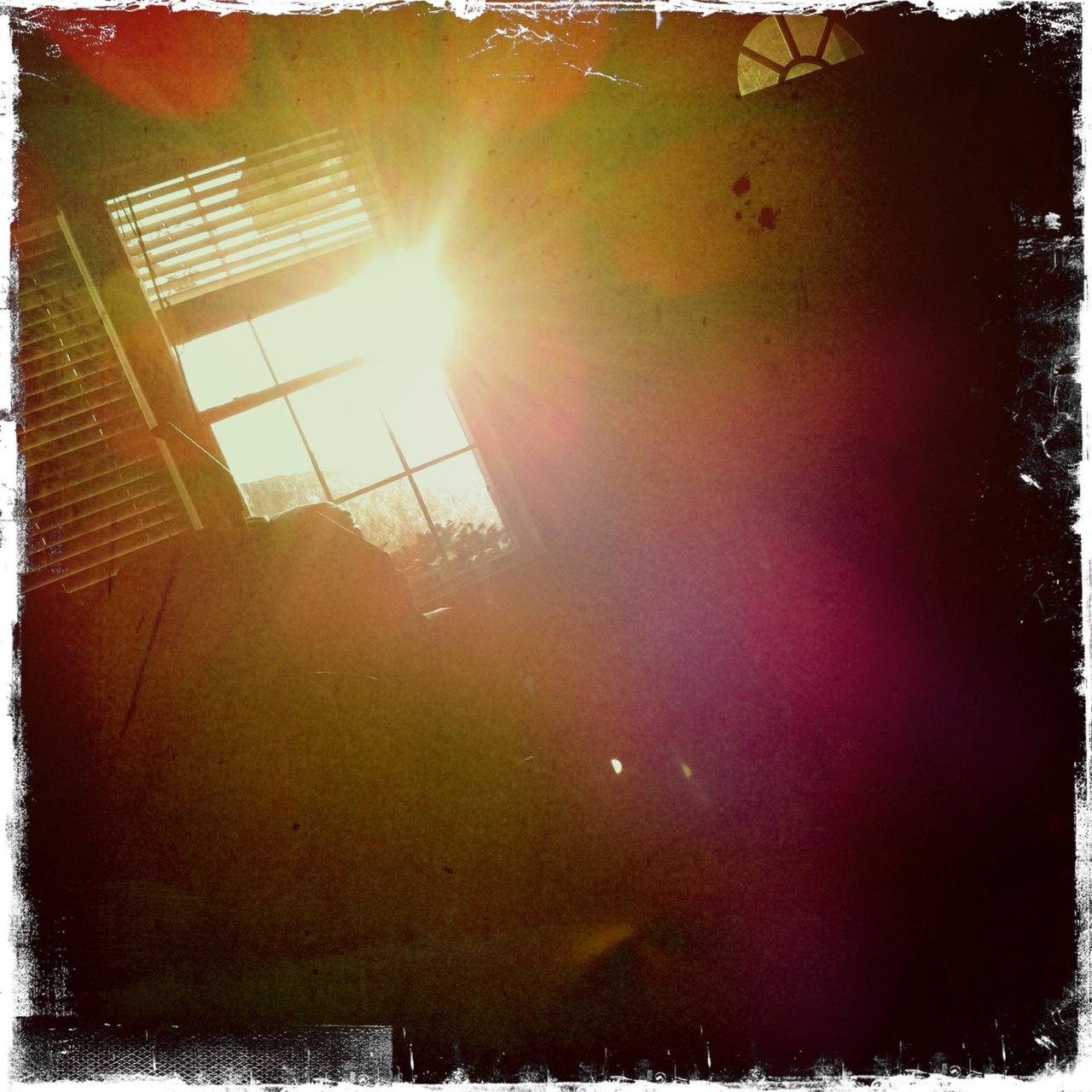 Morning sunrise window 3 Buckhorst H1 Lens, Kodot XGrizzled Film, Dreampop Flash,