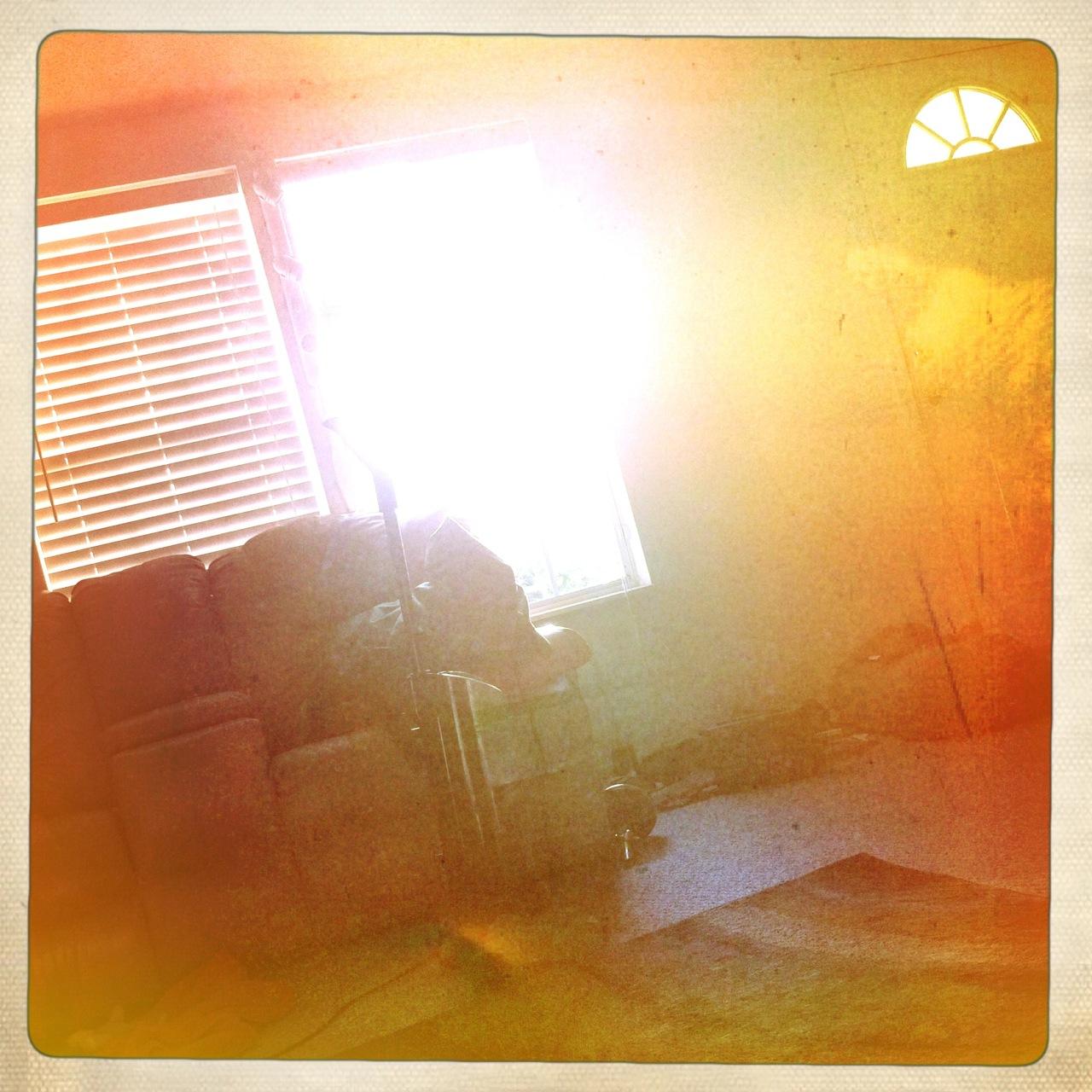 Morning sunrise 1 Buckhorst H1 Lens, Ina's 1969 Film, Cherry Shine Flash,