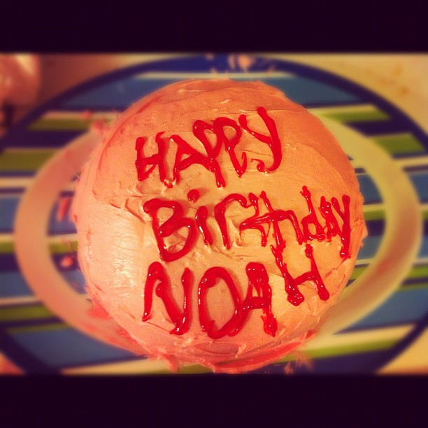 Birthday cake from my sister <3 (Taken with instagram)