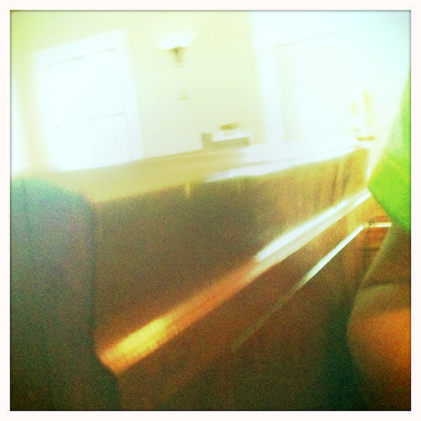 Church pews Jimmy Lens, Blanko Film, No Flash, Taken with Hipstamatic