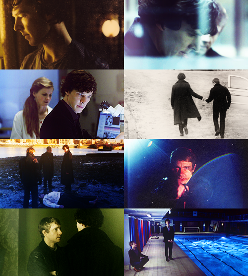 Sherlock  - 8 caps per episode -  The Great Game