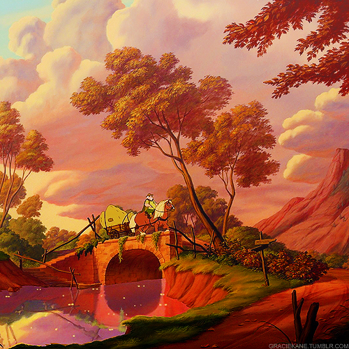 Beauty and the Beast |   Scenery            BRIDGE