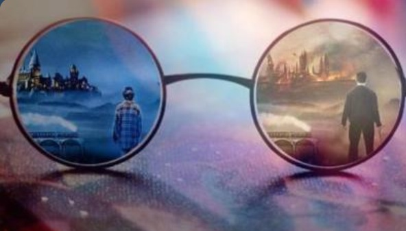 Potter glasses piece