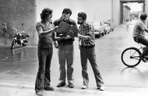 Steven Speilberg, John Milius and George Lucas