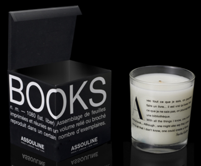starlitfaces: A candle that smells like books. How novel.