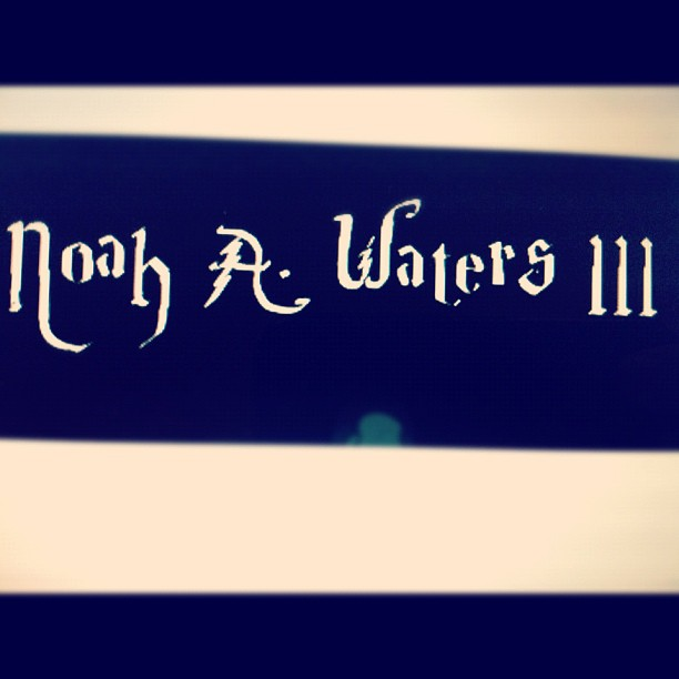 My Harry potter font name by Rachel (Taken with instagram)