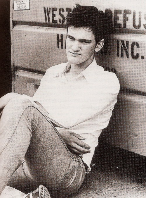 cinemastatic: A very young Quentin Tarantino