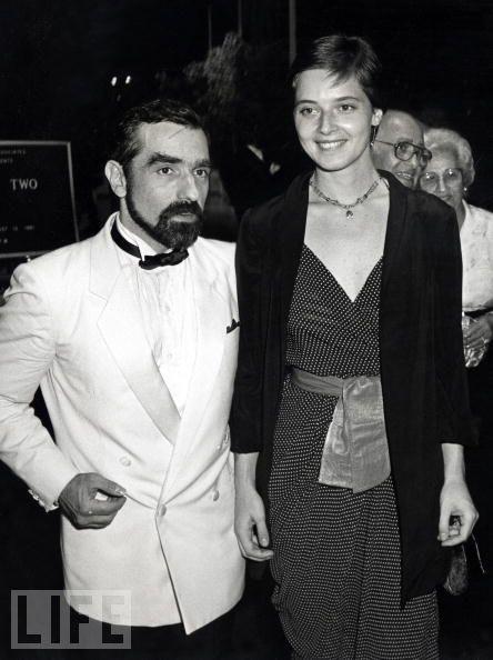 cinemastatic: Martin Scorsese andIsabella Rossellini