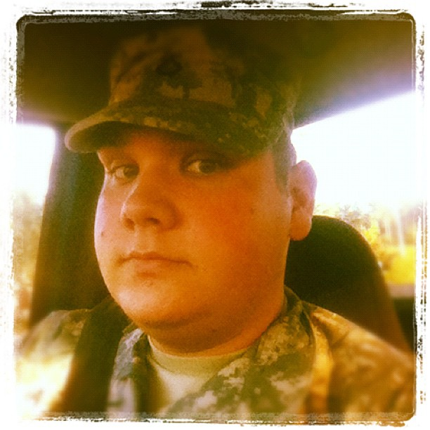 Headed to drill (Taken with instagram)