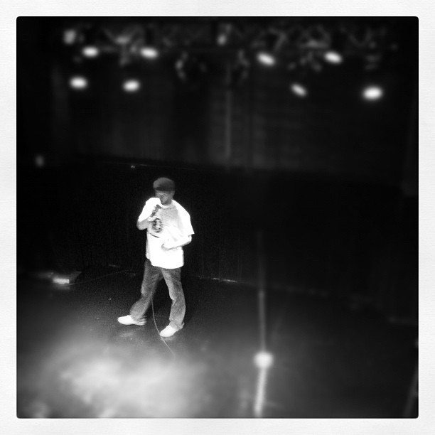 Sean's standup (Taken with instagram)