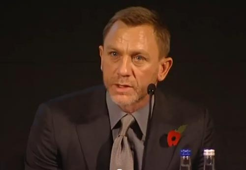 totalfilm: Skyfall Press Conference: Full Transcript The lowdown on Skyfall from the cast and crew - Sam Mendes, Daniel Craig and many more! Earlier today, Total Film went to the swish Corinthia hotel in Whitehall, London, for the Bond 23 (or as we now officially know it, Skyfall) press conference. We've got the full lowdown on the movie, from the people that matter… [FOR THE FULL TRANSCRIPT OF TODAY'S PRESS CONFERENCE, CLICK ON DANIEL OR FOLLOW THIS LINK]