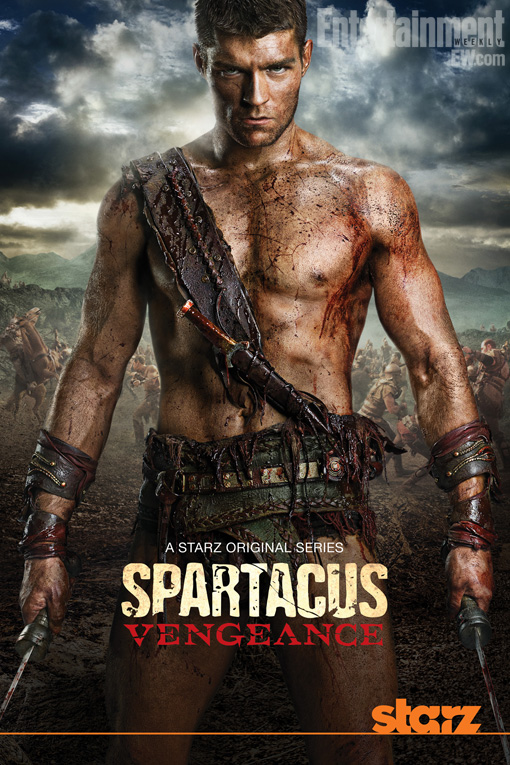 entertainmentweekly: Spartacus fans, EW.com has a triple exclusive treat for you. We have… 1. The premiere date of Spartacus: Vengeance. 2. The rather intimidating new poster for the show's second season starring Aussie actor Liam McIntyre. 3. A video of fresh footage, from behind the scenes and from the show's new episodes.