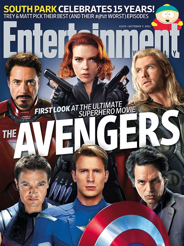 entertainmentweekly :     This week EW presents the ultimate  cover  featuring the ultimate group of superheroes! We're feeling stronger just looking at it…