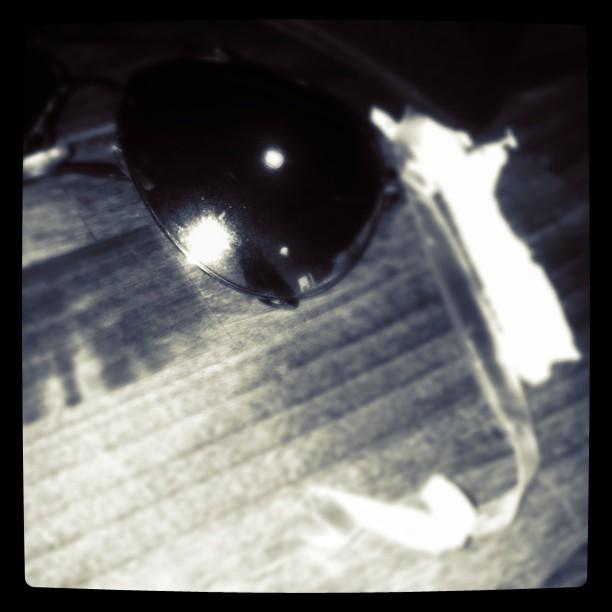 Sun flash glass (Taken with instagram)