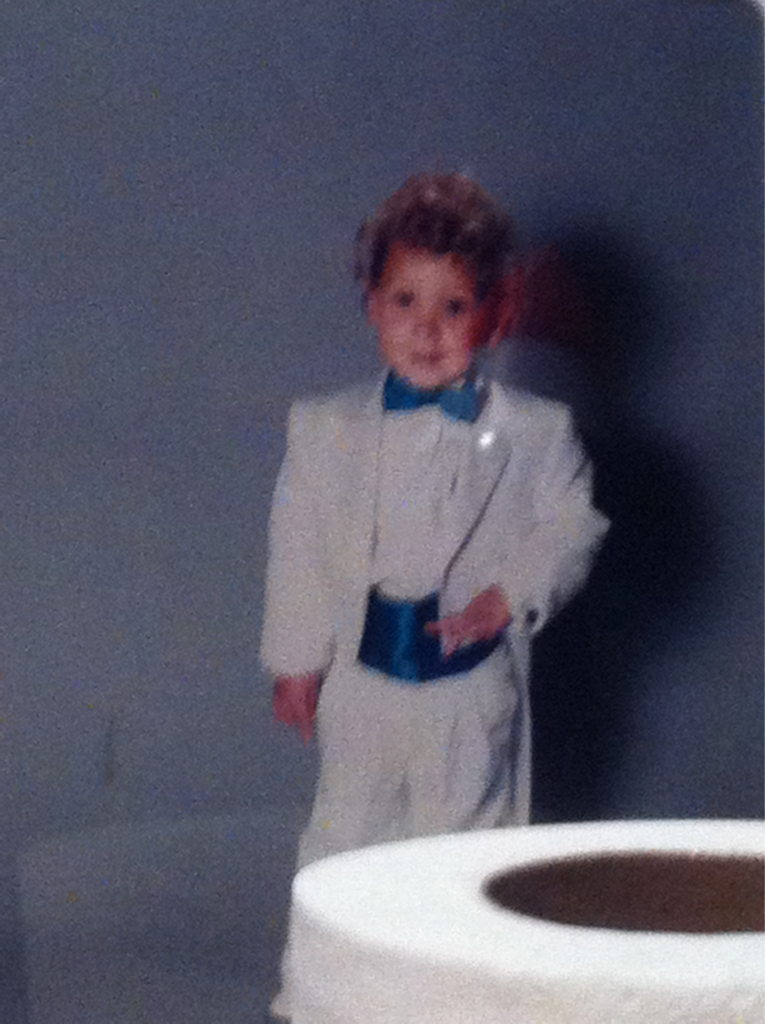 Little Me Lol mullet and all