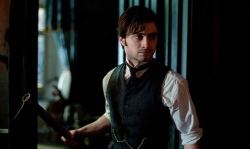 Daniel Radcliffe gets spooked in The Woman In Black trailer At the moment, it's difficult to imagine Daniel Radcliffe as anything other than Harry Potter, but this new trailer for The Woman In Black puts him in a whole new light. Candle light, to be precise. Set in the Victorian era, James Watkins' adaptation of the famous novel stars Radcliffe as Arthur Kipps, a young lawyer who travels to a remote village to settle arrangements for a recently deceased client. Will The Woman In Black change Radcliffe from 'the boy who lived' to 'the man who can act'? Watch the trailer and tell us what you think…