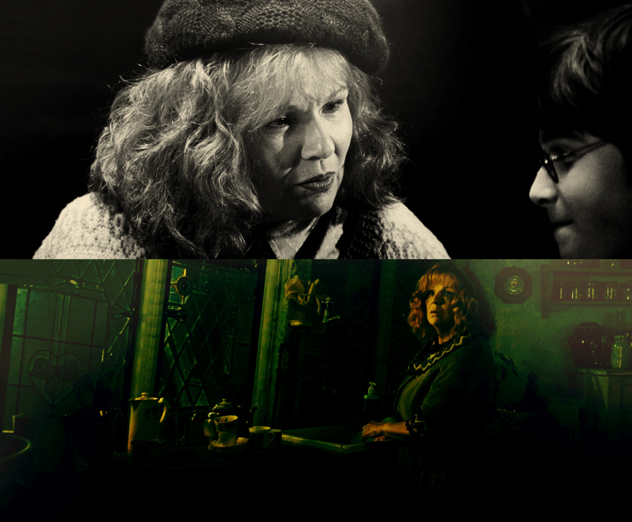 cloakwandstone: Now and Then - Molly Weasley