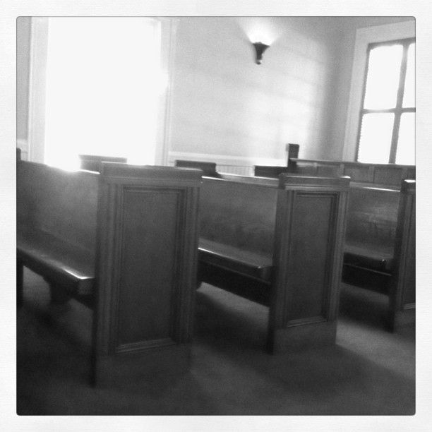 Churn pews (Taken with instagram)