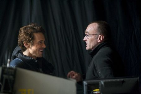 fuckyeahdirectors: James Franco and Danny Boyle