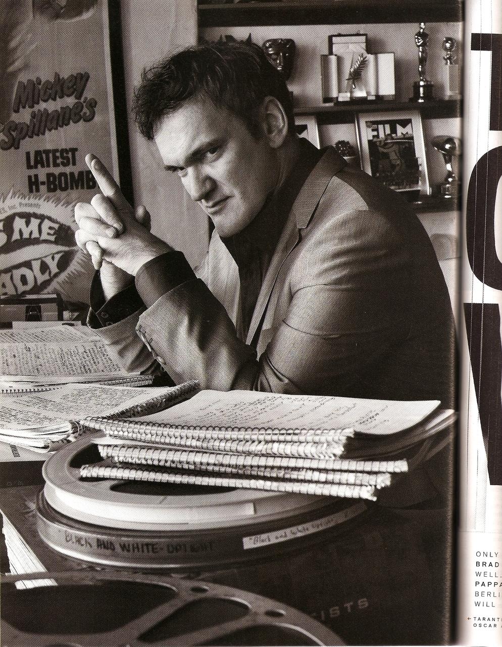 fuckyeahdirectors :     Quentin Tarantino
