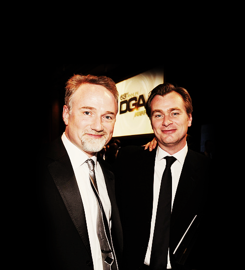 David Fincher and Christopher Nolan