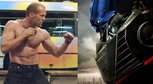 "totalfilm: Jason Statham taking over the Transformers franchise Michael Bay and Shia LaBeouf are moving on from the Transformers franchise, but with Paramount keen to keep the money spinning, who to take the reins? Well, if recent rumours are to be believed, none other than British ball-buster Jason Statham. According to Showbiz Spy (uh, yeah), the Crank star is poised for the lead in Transformers 4, and will take the robo-series into a ""darker"" direction… WHAT?"