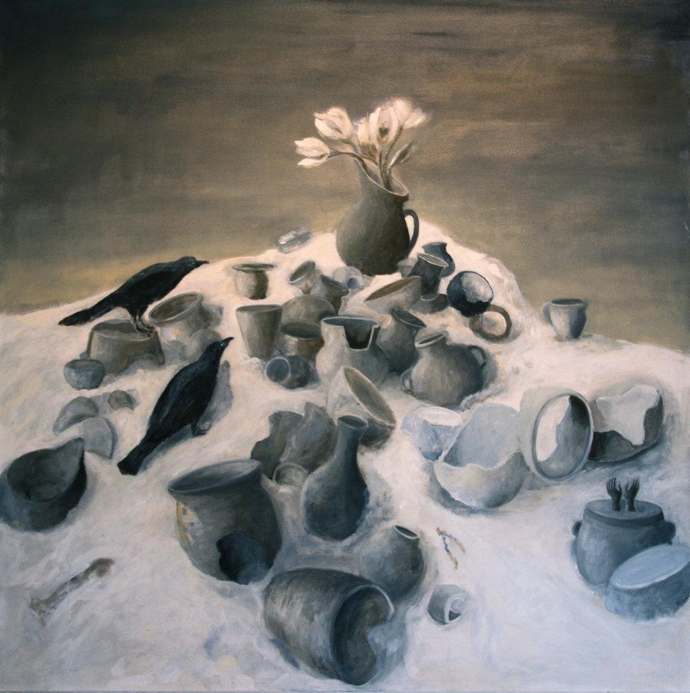 Homage to Schenck's Anguish - Lesley Dickman