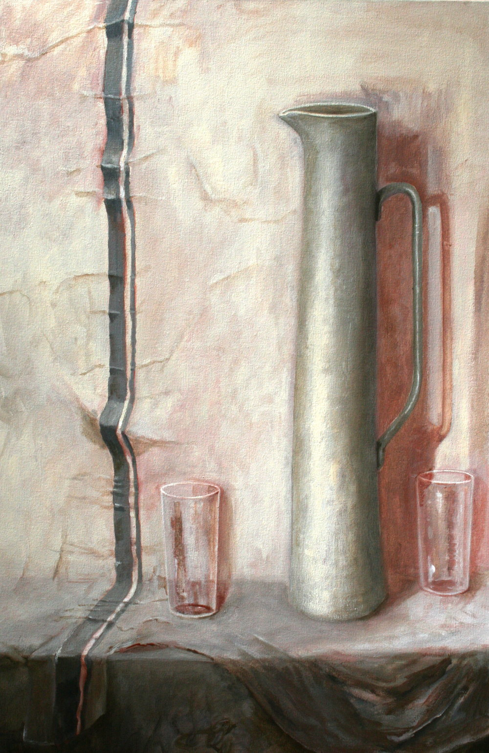 Still life with jug - Lesley Dickman