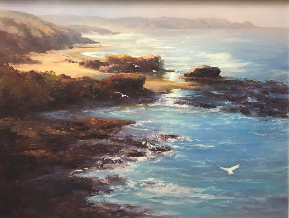 Seaspray 58x76cm Oil