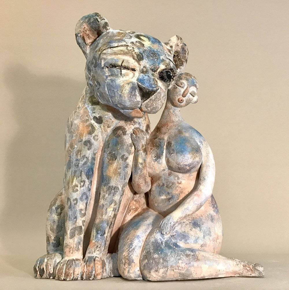 Creatures in kind, glazed ceramic, 30x20x35cm.jpg
