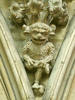 Imp at the Cathedral of Lincolnshire