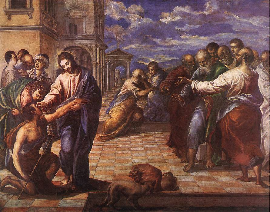 Christ Healing the Blind by El Greco