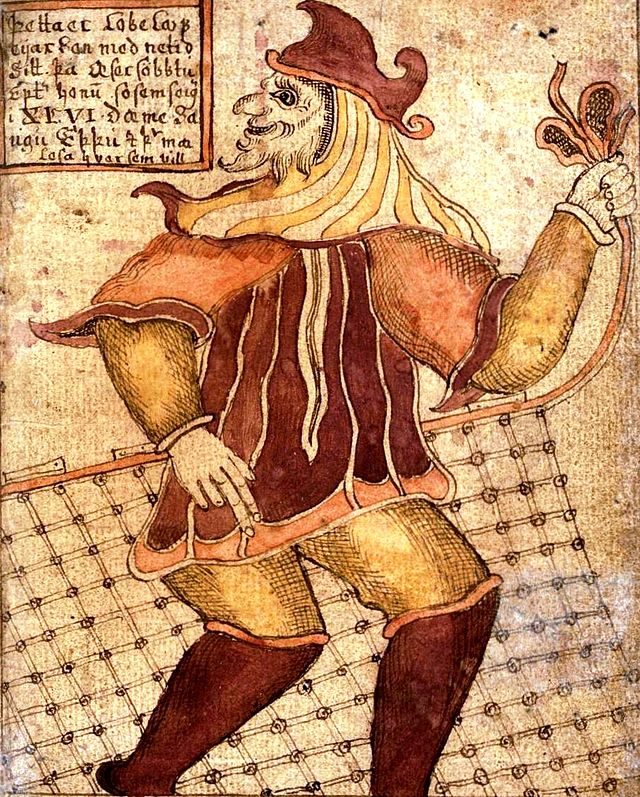 This is actually Loki, the Norse trickster God.  There is much to say about tricksters and they show up throughout the Bible.  More blogs on that for sure!