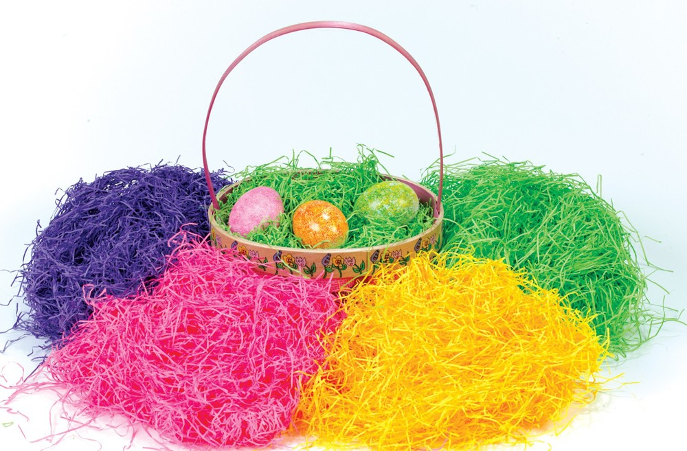 Thats Why The Grass In Our Easter Basket Is Fake And There A Lot Of It
