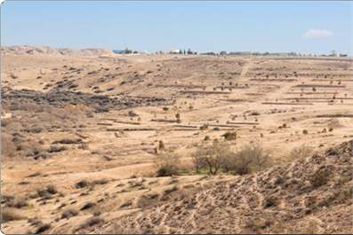 Beersheba, where Abraham and Sarah finally settled, now as then.