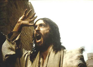 This comes the closest to what I imagine Jesus' expression is as he berates the storm...and then His disciples.