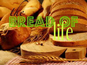"""Bread of Life,"" ""Bread of Life,"" ""Bread of Life,"" ""Bread of Life,""...if you attend worship this month, this is the phrase you're bound to hear over and over again!"