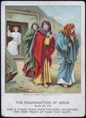 WOMEN in Mark's Easter.