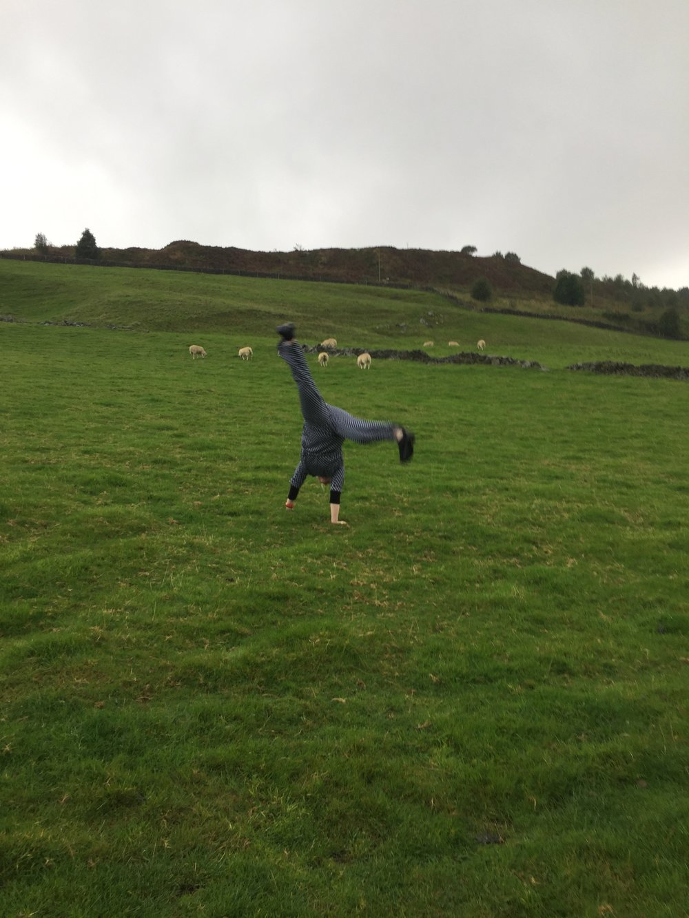 Wuthering Cartwheel in Bronte Country (Haworth)