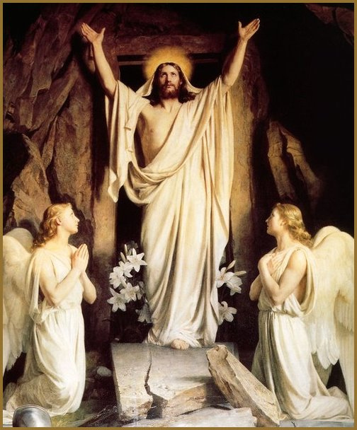 HE IS RISEN!  HE IS RISEN INDEED!!