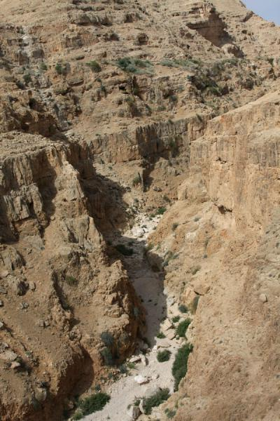 Ironically, it's in the perilous wadi's of the Holy Land that a path can actually be discerned.