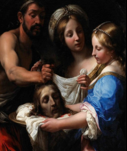 "Scholars note the Greek word for ""girl"" used in Mark to describe Salome suggests someone around 12 years of age.  Can you imagine the psychological trauma for someone that age to hold a bloody human head, and at your mother's insistence?  An ending of a story that is beyond awful."