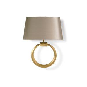 Wall lights ms porta romana metal ring wall light mozeypictures Image collections