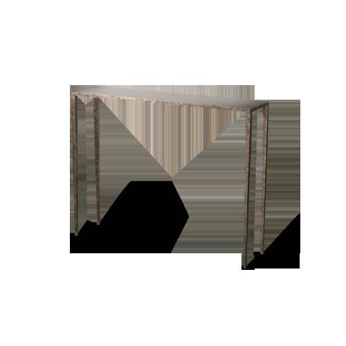 porta romana salvatore console table - Thin Console Table