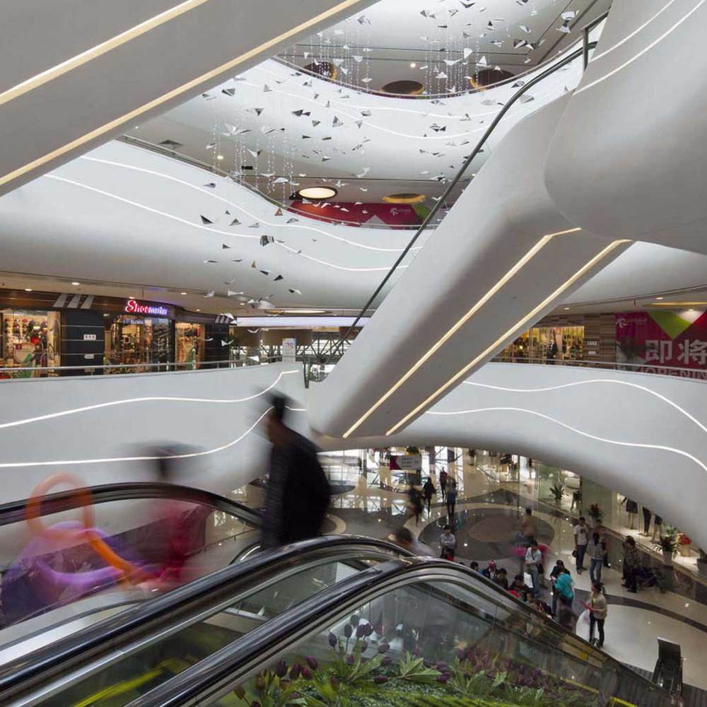 Suzhou Lifeng Shopping Mall in Suzhou. Designed by Broadway Malyan Architects