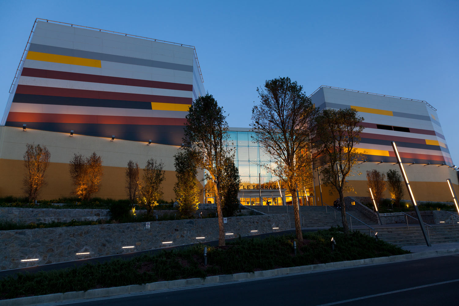 retail broadway malyan le terrazze la spezia italy nbsp retail and leisure centre designed with reference to