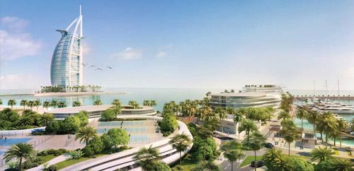 Jumeirah Beach Hotel, UAE