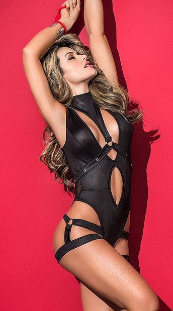 Harnessed Hottie Bodysuit $37.95 Yandy.com