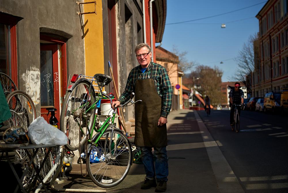Mitt Oslo: Christiania Sykkelverksted