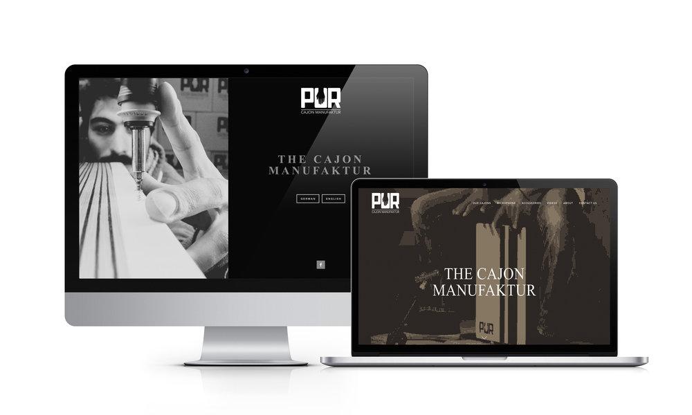 MAMOWORKS Web Design PUR Cajon
